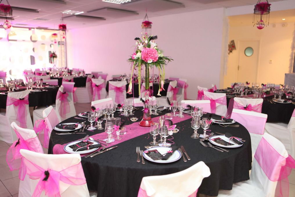 decoration salle mariage gourmandise