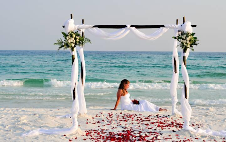 mariage sur la plage mariages de shana. Black Bedroom Furniture Sets. Home Design Ideas
